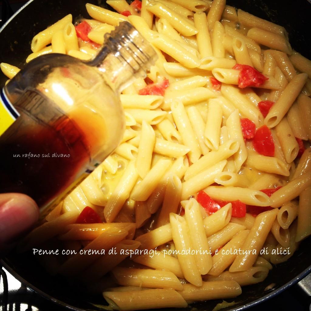gli avanzi in cucina: la crema di asparagi